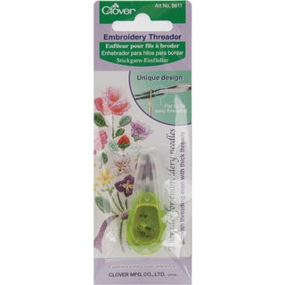 Clover Apple Green Embroidery Needle Threader