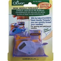 Clover Purple Desk Needle Threader