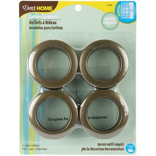 Dritz Antique Gold Curtain Grommets (Pack of 8)