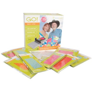 Accuquilt GO! Fabric Cutting Starter Set for Quilting Projects