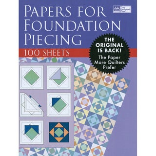 That Patchwork Place Blank Foundation Paper (100 sheets)