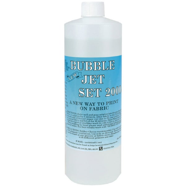 Jenkins Bubble Jet Set 2000 Fabric Craft Solution (32 ounces)