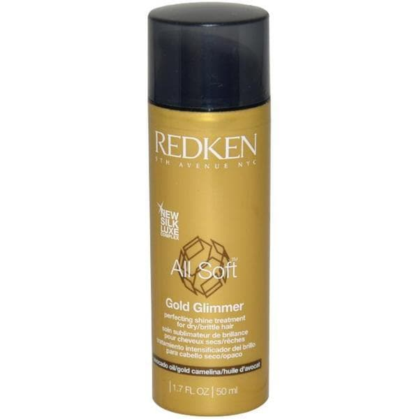 Redken All Soft 1.7-ounce Gold Glimmer Treatment
