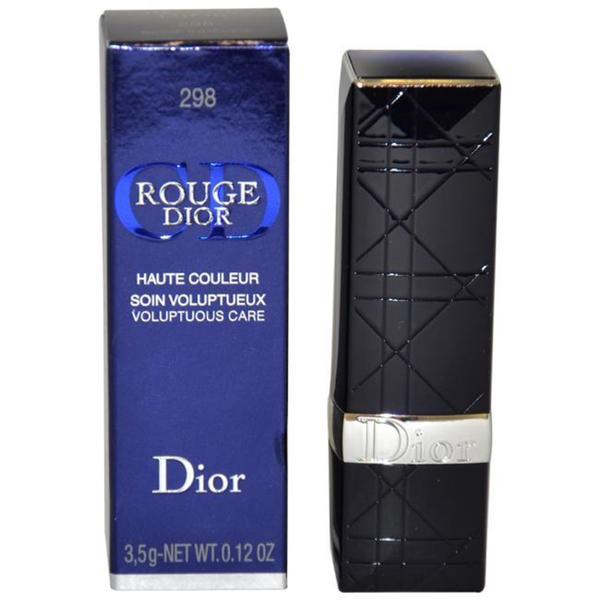 Rouge Dior Voluptuous Care #298 Beige Indecise Lipstick