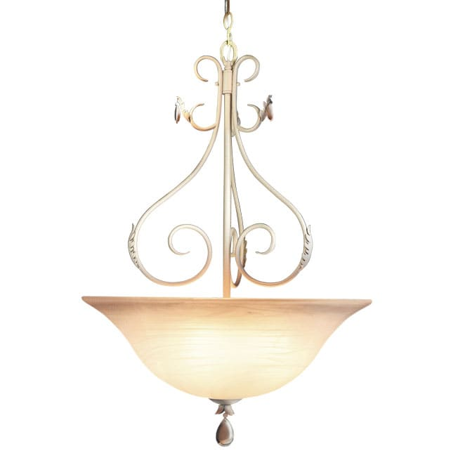 Woodbridge Lighting Alexandria 5-light Washed Gold Pendant