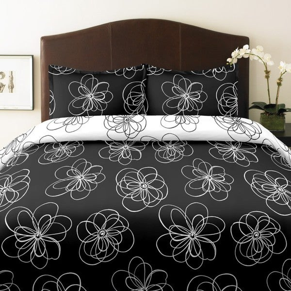 City Scene Luna Full/ Queen-size 3-piece Duvet Cover Set