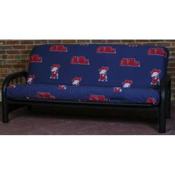 College Covers Ole Miss Rebels Full-size Futon Cover
