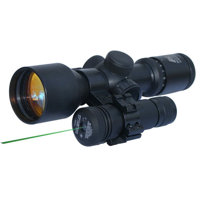 NcStar 1-inch Scope Mount with Green Laser