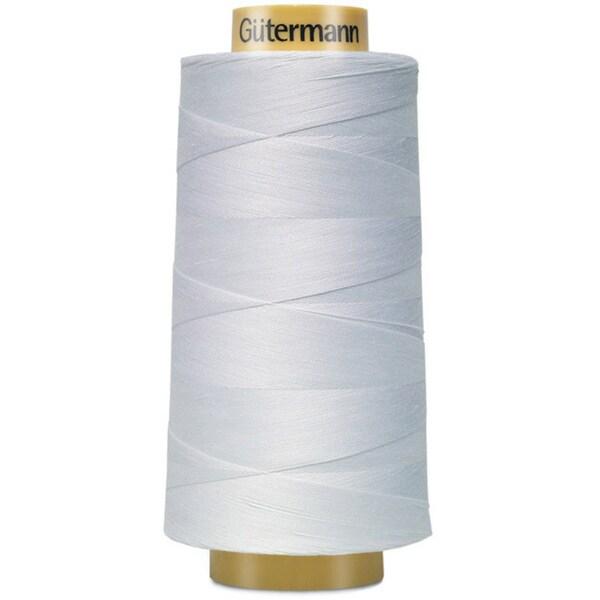 Gutermann Solids Natural White/Cream Cotton Thread 3281-yards