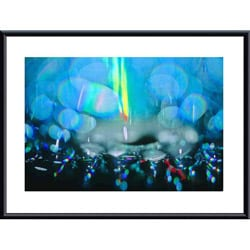 John K. Nakata 'Rain Abstract' Metal Framed Art Print