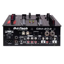 DJ tech Pro 2 CH7 USB Input Twin DJ Mixer - Thumbnail 1