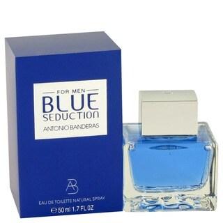 Antonio Banderas Blue Seduction Men's 1.7-ounce Eau de Toilette Spray