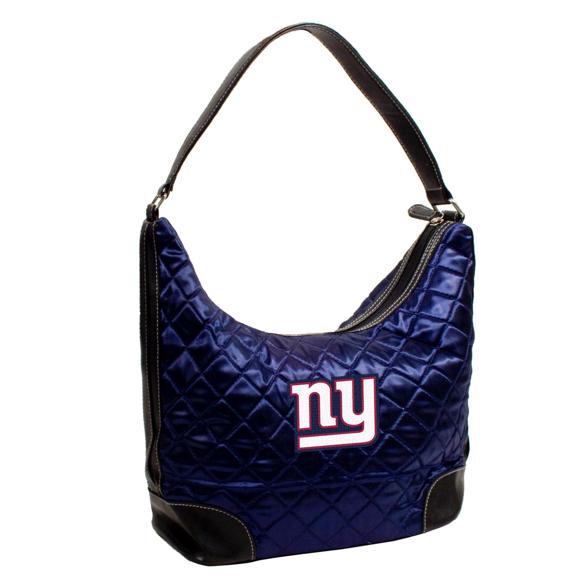 Little Earth New York Giants Quilted Hobo Handbag