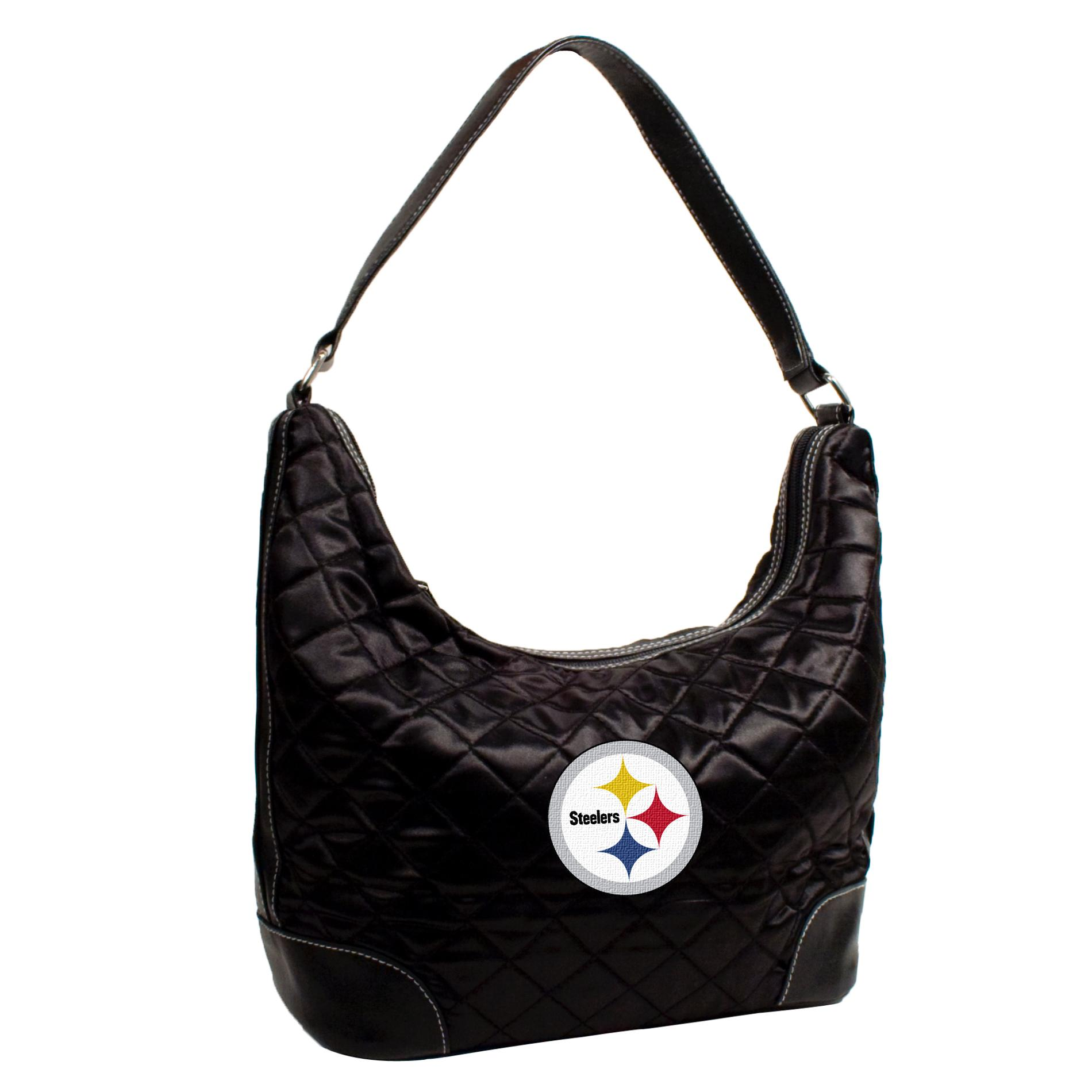 Pittsburgh Steelers Quilted Hobo Handbag