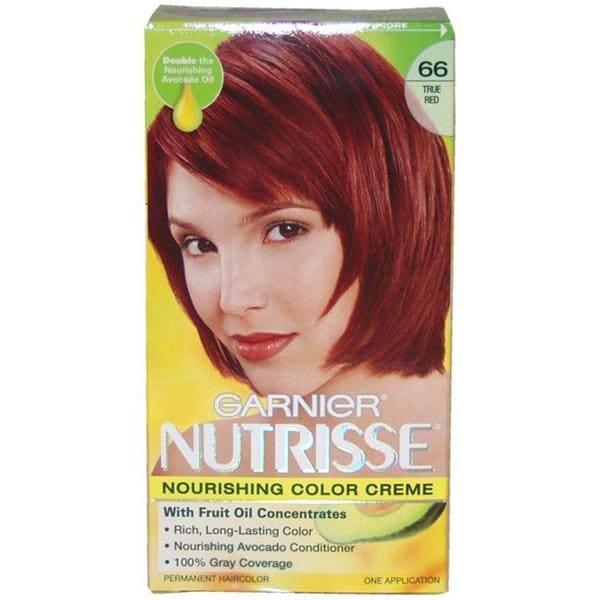 Garnier Nutrisse Nourishing Color Creme 66 True Red Hair Color  Free Shippi