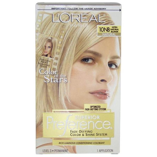 l oreal super blonde hair dye instructions