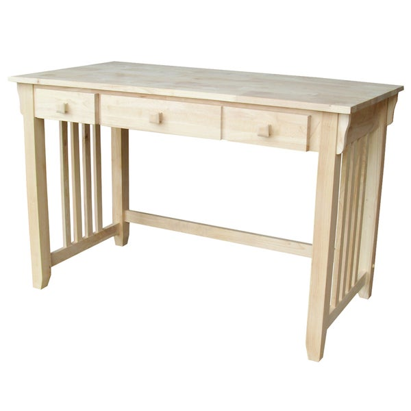 Mission Natural Computer Desk - Free Shipping Today - Overstock.com