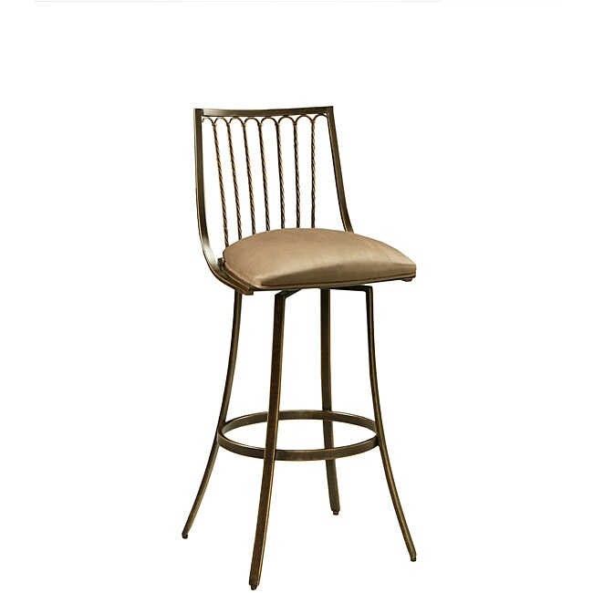 Victoria 26-inch Swivel Counter Stool - Thumbnail 0
