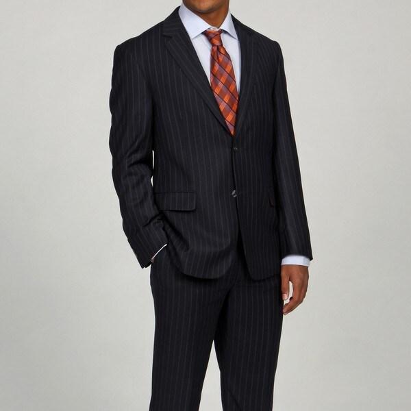 Oxford Republic Suit Separates Navy Stripe Coat
