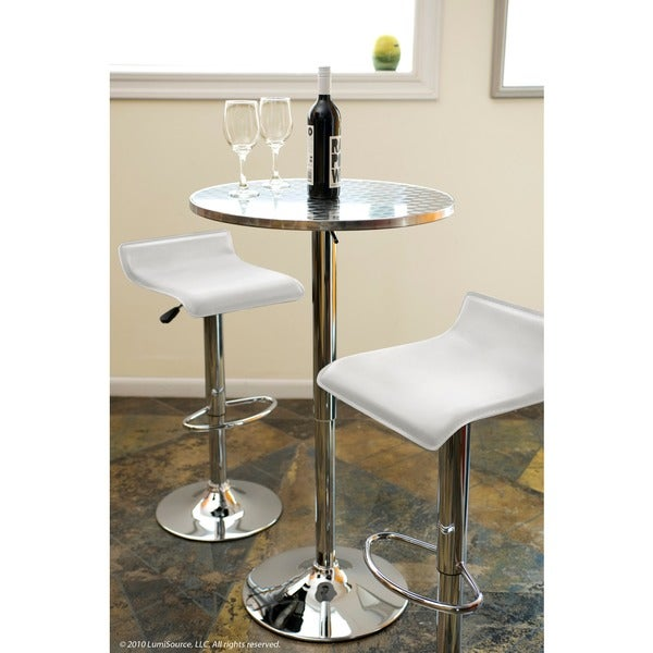 White Ale Hydraulic Barstool. Opens flyout.