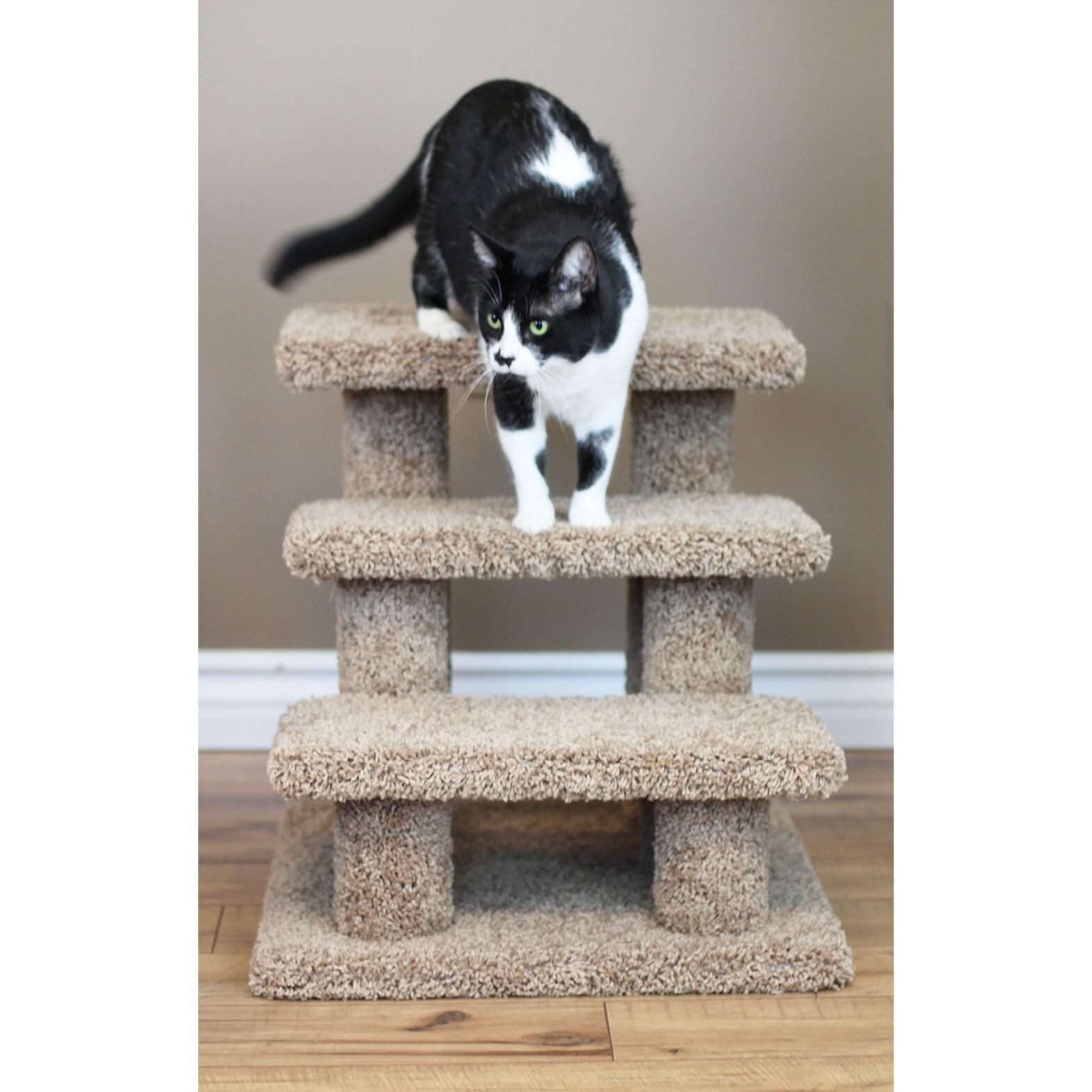 New Cat Condos Pet Stairs (Gray), Grey