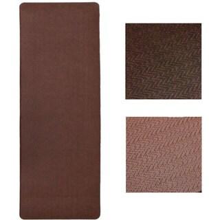 Imprint Cobblestone Anti-fatigue Comfort Runner Mat (26 x 72)
