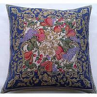 Corona Decor Italian-Woven Harvest Decorative Throw Pillow