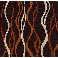 Admire Home Living Brilliance Abstract Olefin Area Rug (7'9 x 11')