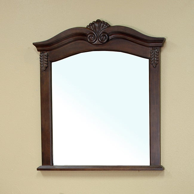 Ashby Wood Frame Mirror Free Shipping Today Overstock
