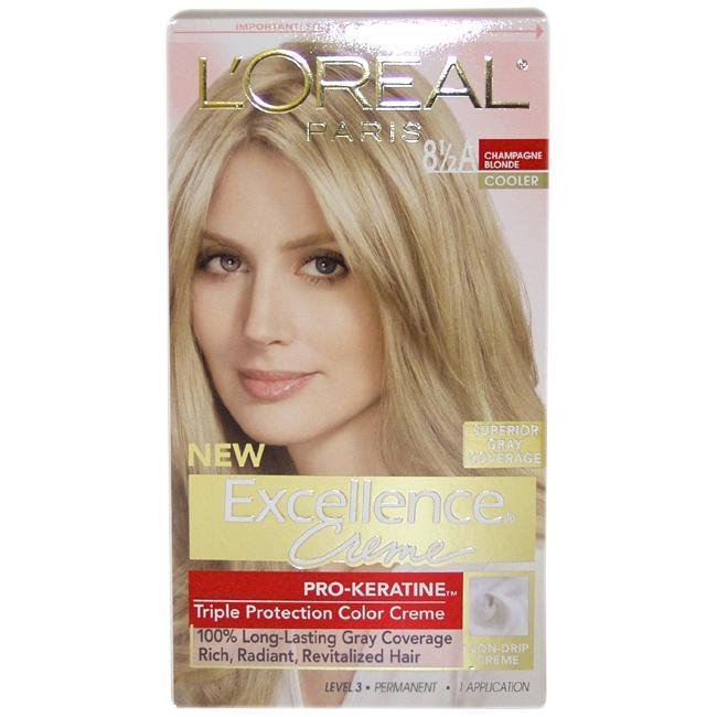 L'Oreal Superior Preference Fade-Defying Color # 8.5A Cha...