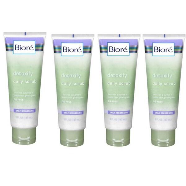 Biore Detoxifying 5-ounce Daily Scrub