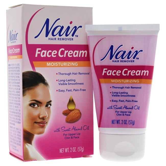 Shop Nair 2 Ounce Hair Removal Cream For Upper Lip Chin And Face