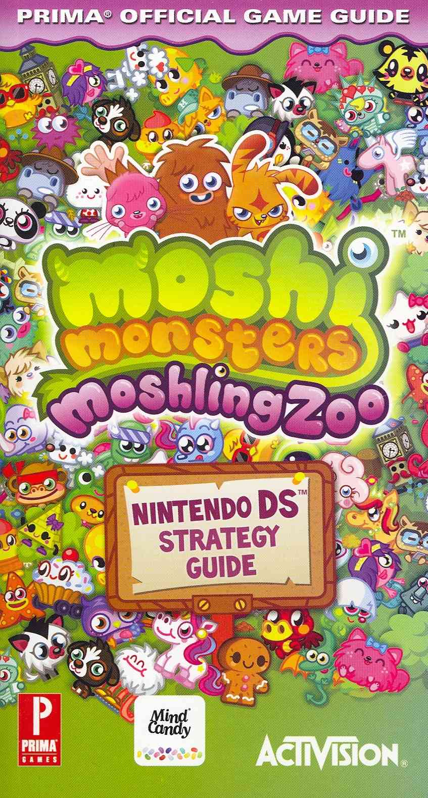Moshi Monsters: Moshling Zoo: Prima Official Game Guide (Paperback)
