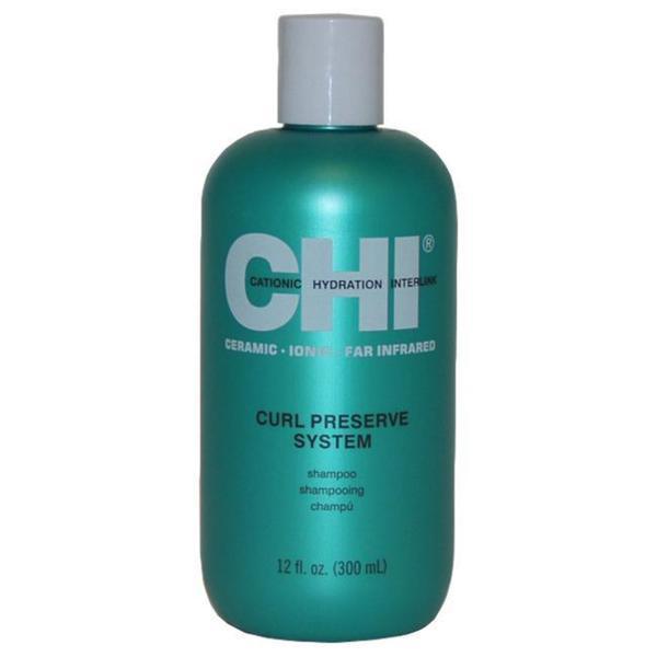 CHI Unisex 12-ounce Curl Preserve Shampoo