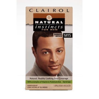Shop Clairol Natural Instincts For Men M15 Darkest Brown