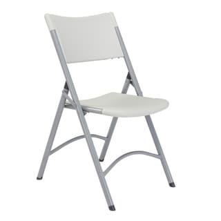 (8 Pack) NPS Heavy Duty Plastic Folding Chair