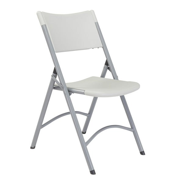 (8 Pack) NPS Heavy Duty Plastic Folding Chair