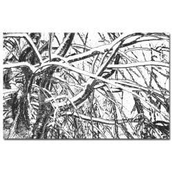Kathie McCurdy 'Winter Tree' Large Canvas Art