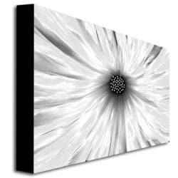 Kathie McCurdy 'White Garden' Floral Canvas Art - Thumbnail 1