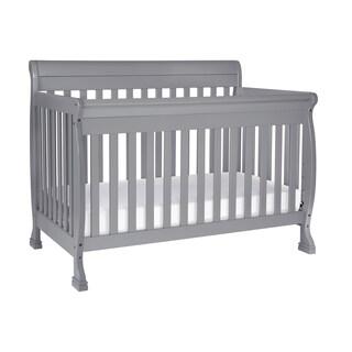 DaVinci Kalani 4-in-1 Convertible Crib (Option: Grey - Grey Finish)