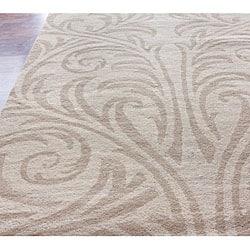 nuLOOM Handmade Marrakesh Damask Wool Rug (5' x 8') - Thumbnail 1