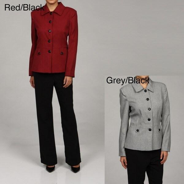 Danillo Women's Button-embellished 2-piece Suit