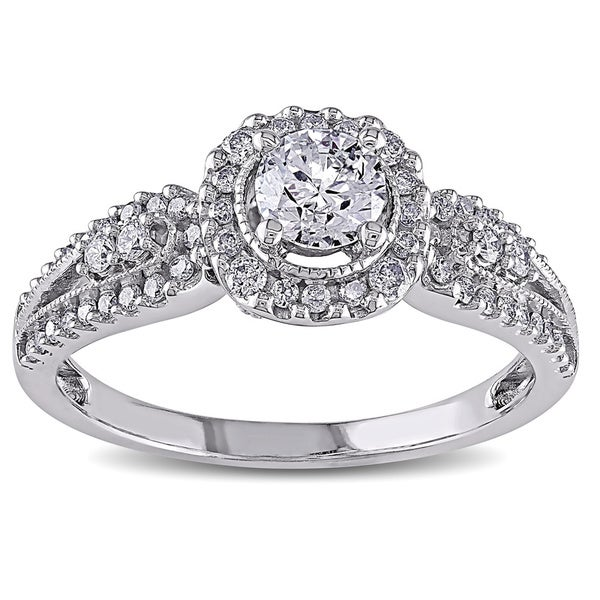 Miadora Signature Collection 14k White Gold 1ct TDW Diamond Ring (G-H, I2-I3)