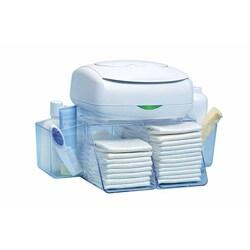 Prince Lionheart Blue Plastic Size 16.5-inch Dresser-top Diaper Depot