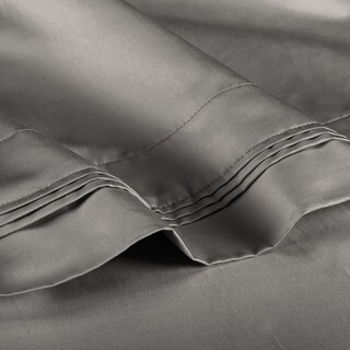 Superior Egyptian Cotton 1000 Thread Count Solid Deep Pocket Sheet Set (2 options available)