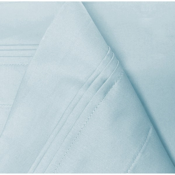 US 1 Pair Pillow Case 100/% Egyptian Cotton-1000 Thread Count Turquoise Blu Solid