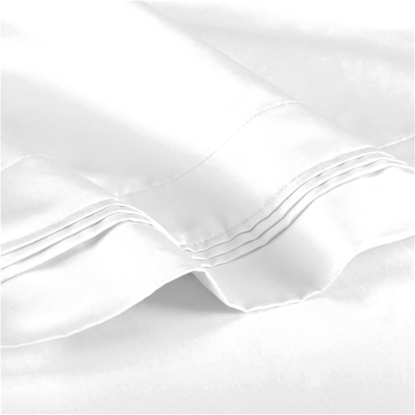 superior egyptian cotton thread count solid deep pocket sheet set free shipping today