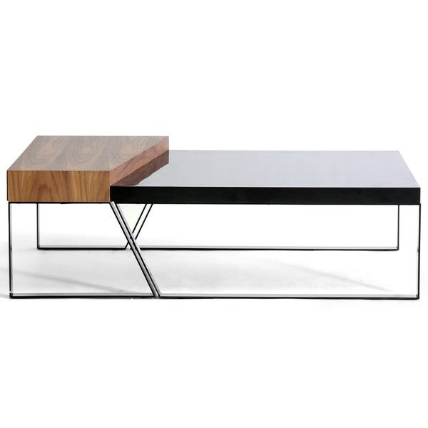 Divyde 2 Piece Wooden Modern Coffee Table Free Shipping Today 13856030