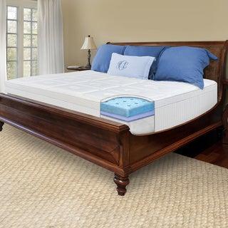 SwissLux 12-inch European Pillow Top California King-size Memory Foam Mattress