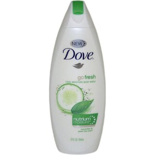 Dove Go Fresh Cool Moisture Body Wash with Nutrium Moisture Cucumber & Green Tea Scent 12-ounce